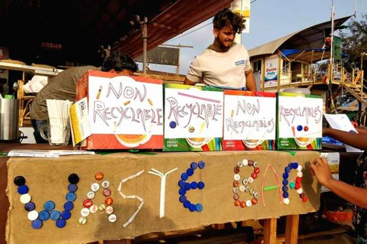 waste bar- India TV