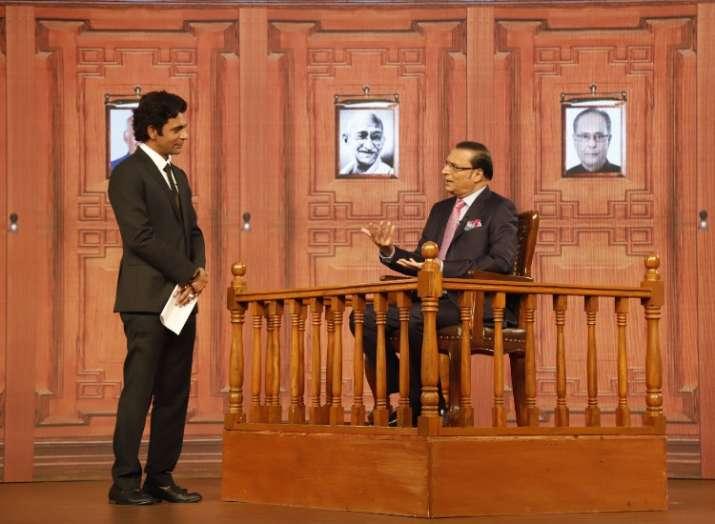 Rajat sharma aap ki adalat- India TV