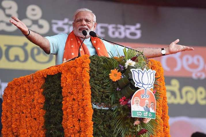 PM Modi in Karnataka: 'Our govt has continuously worked for poor, middle class in last 4 years'- India TV