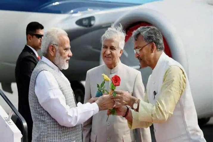 Rains strand Prime Minister Narendra Modi at Dehradun airport - India TV