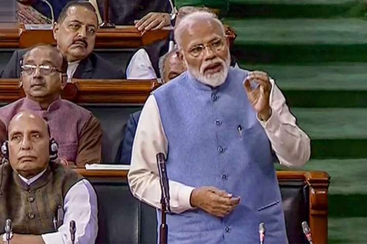PM Narendra Modi Speech In Loksabha- India TV