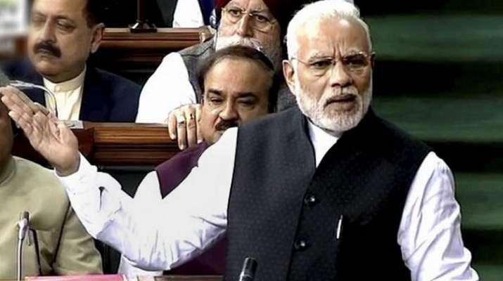 PM Modi calls Mahagathbandhan as Mahamilawat- India TV