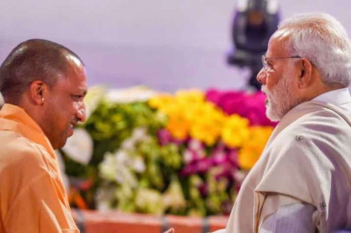 PM Narendra Modi and UP CM Yogi Adityanath | PTI File- India TV