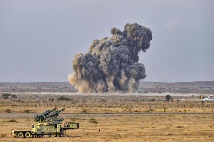 Indian Air Force Excercise Vayu Shakti 2019 at Pokhran Range in Rajasthan- India TV