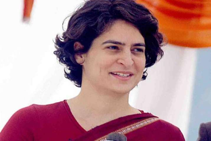 Official Twitter account of Priyanka Gandhi- India TV