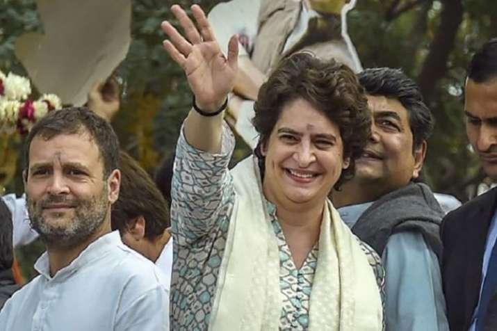 Priyanka Gandhi hold marathon meetings with partymen at UP Congress office | PTI File- India TV