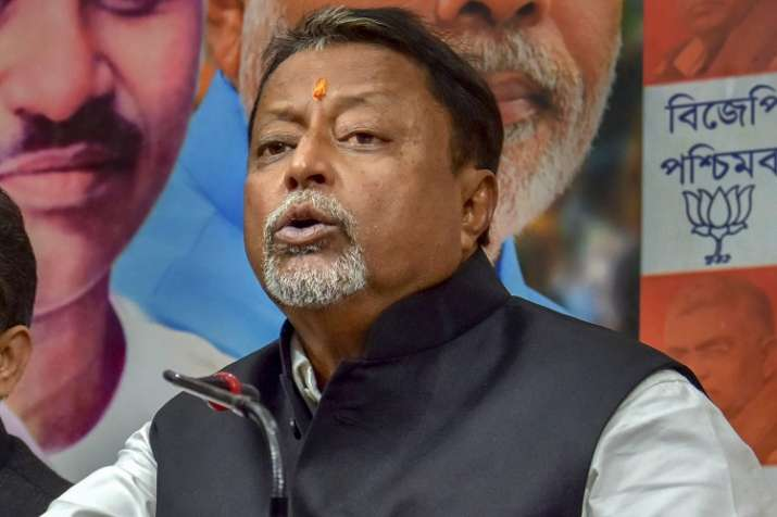 BJP leader Mukul Roy- India TV