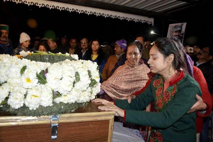 Wife Nitika Kaul of Major Vibhuti Shankar Dhoundiyal- India TV