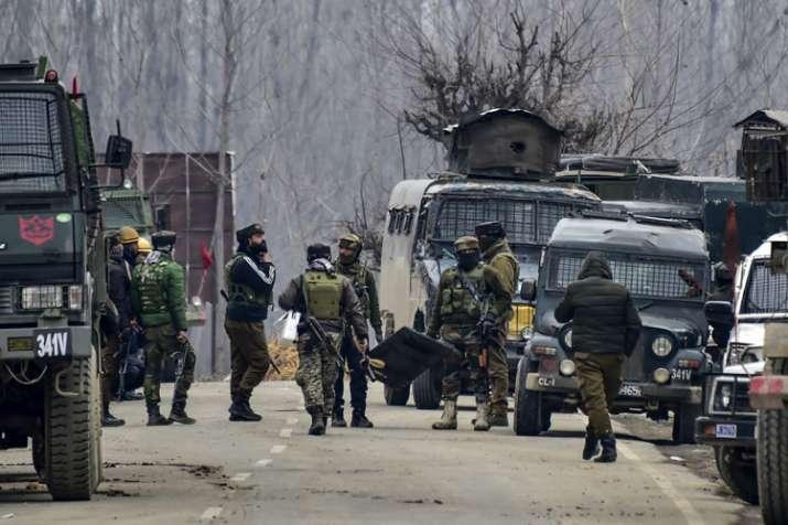 Jammu and Kashmir Pulwama Encounter- India TV