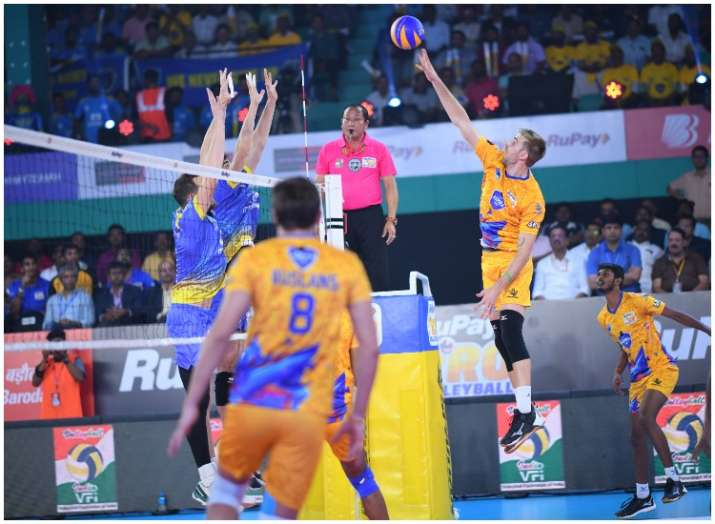 प्रो वॉलीबॉल लीग:...- India TV