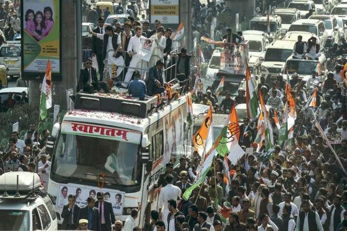 Rahul Gandhi and Priyanka Gandhi- India TV