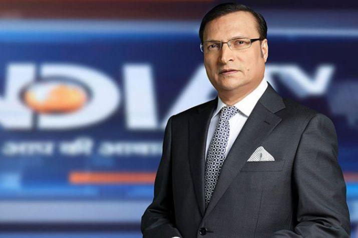 Rajat Sharma   India TV- India TV