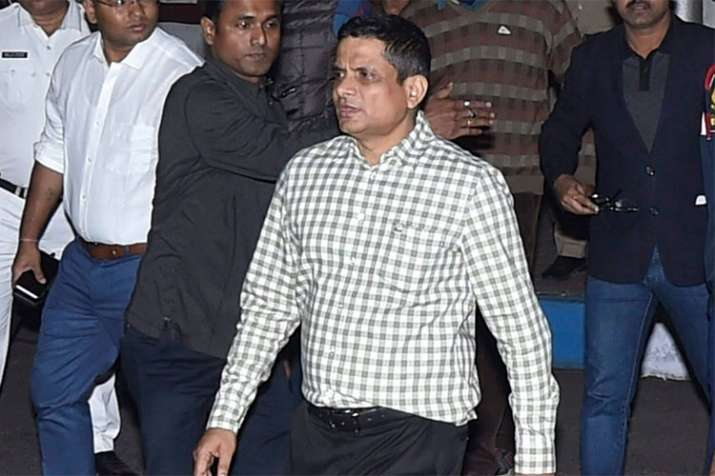 Kolkata Police Commissioner Rajeev Kumar grilled for 11 hours on Tuesday   PTI File- India TV