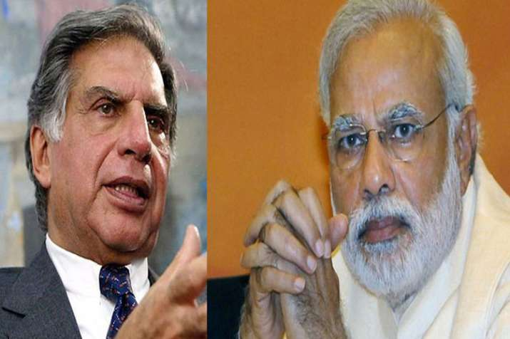 Ratan Tata congratulates the PM Modi and the IAF for the successful air strikes on terrorist camps- India TV Paisa