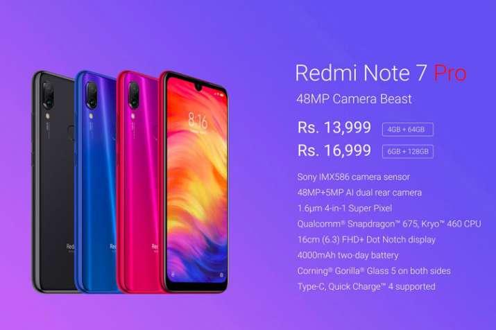 Xiaomi Redmi Note 7 Pro- India TV Paisa