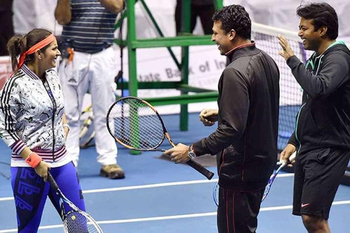 भारतीय टेनिस की बेहतरी के लिए पेस, भूपति, सानिया को मिलकर काम करना होगा - India TV
