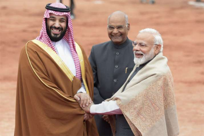 Saudi Prince Mohammed bin Salman gets ceremonial welcome | PTI- India TV