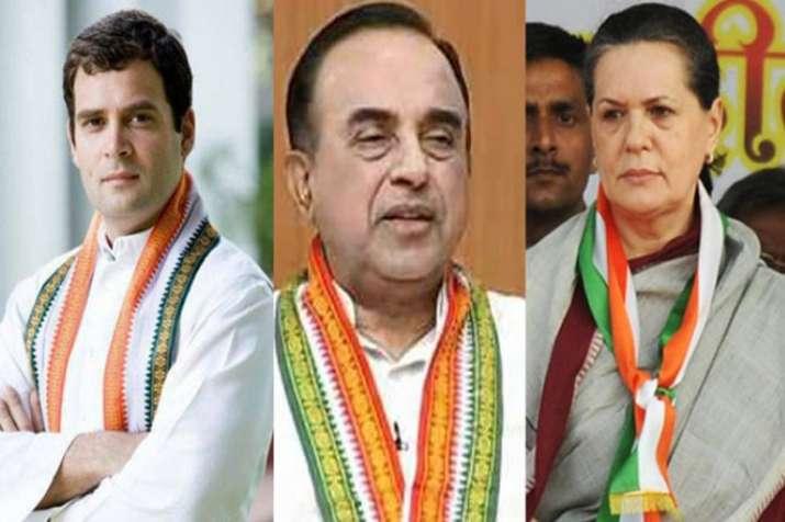 National Herald case: Sonia, Rahul Gandhi start cross examination of complainant, Subramanian Swamy- India TV