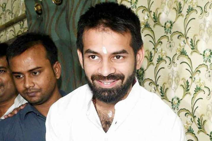 RJD leader Tej Pratap Yadav's private bodyguards spotted inside Bihar assembly premises | PTI File- India TV