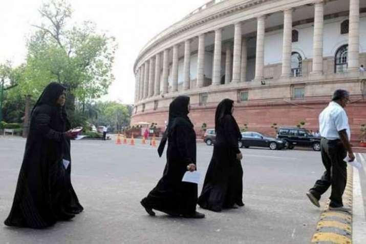 Triple Talaq and citizen amendment bill lapse as Rajya Sabha adjourns Sine Die- India TV