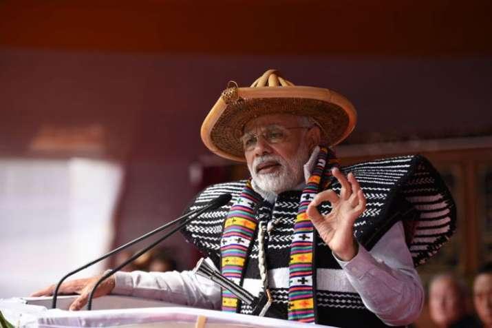 PM Modi North East Visit- India TV