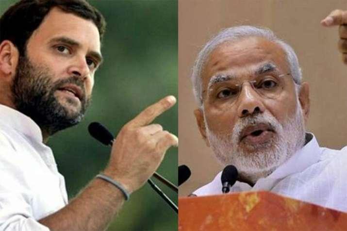 Rahul and Modi- India TV