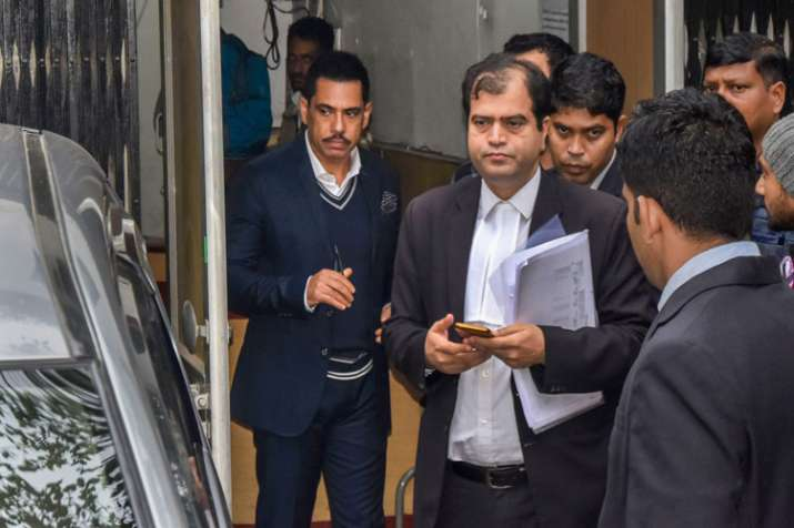 Money laundering case: Robert Vadra grilled for 8 hours by ED on third consecutive day- India TV