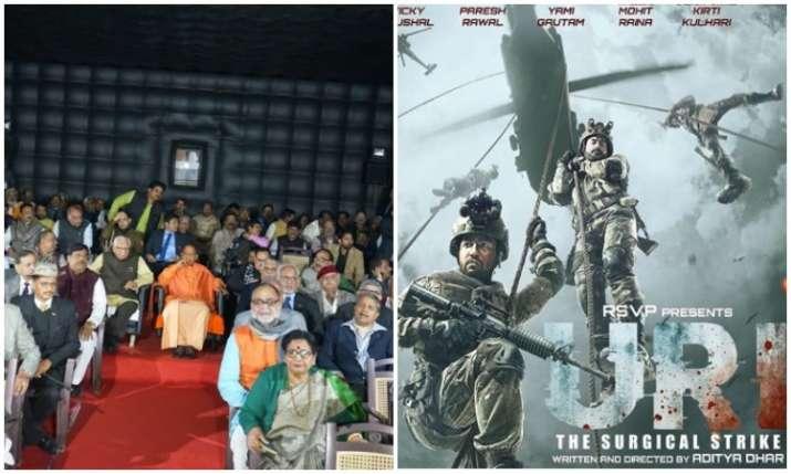 Yogi Adityanath watch Film Uri- India TV