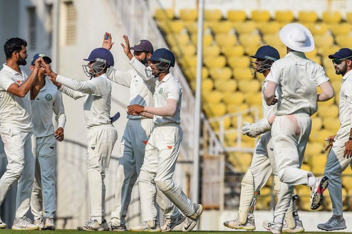 Vidarbha beat Saurashtra in final of Ranji Trophy- India TV