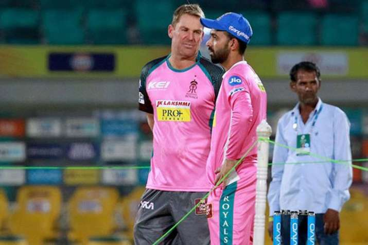 IPL 2019: शेन वॉर्न बने राजस्थान रॉयल्स के ब्रांड दूत, नए रंग की जर्सी में नजर आएगी टीम- India TV