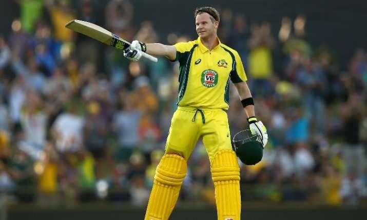 डकवर्थ लुईस से जीता ऑस्ट्रेलिया एकादश, स्टीव स्मिथ ने जड़े नाबाद 91 रन- India TV