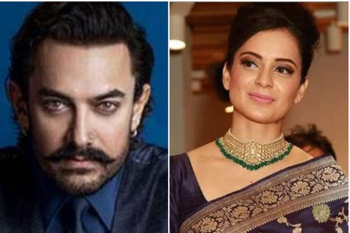 Aamir Khan, Kangana Ranaut- India TV