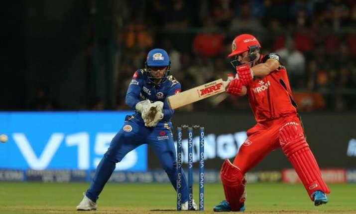लाइव क्रिकेट मैच स्कोर, आईपीएल 2019 रॉयल चैलेंजर्स बैंगलोर बनाम मुंबई इंडियंस Live स्कोर अपडेट्स- India TV