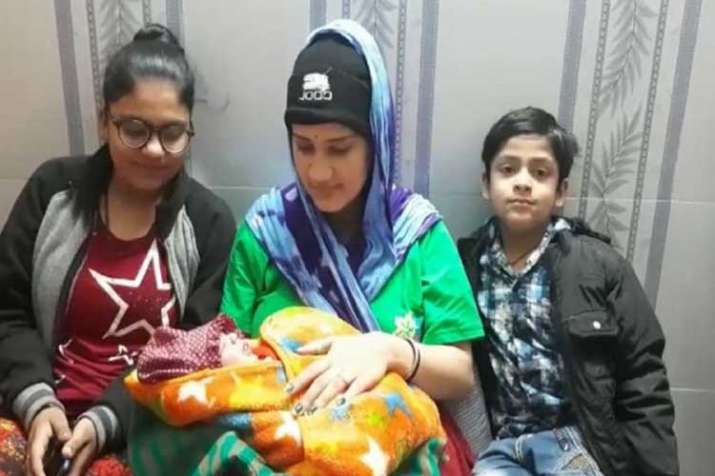 Rajasthan family names newborn after Wing Commander...- India TV