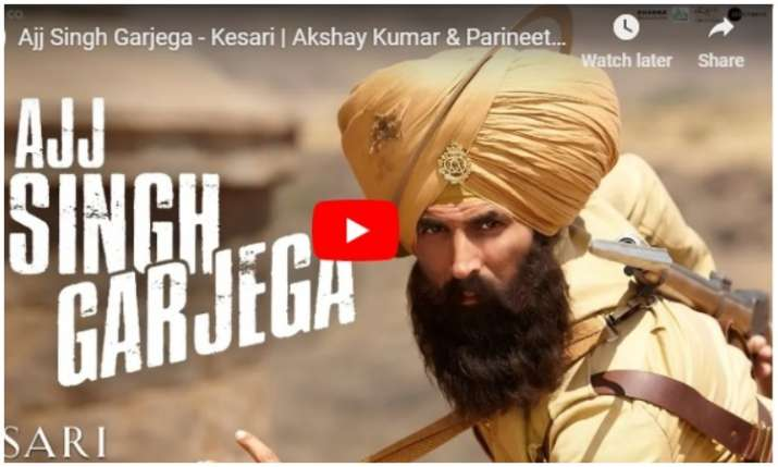 New Song of Kesari- India TV