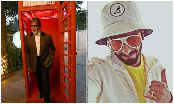 Amitabh bachchan and ranveer singh- India TV