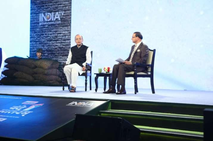 Arun Jaitley- India TV