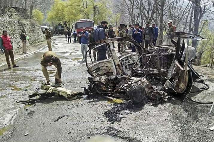 Banihal Car Blast- India TV
