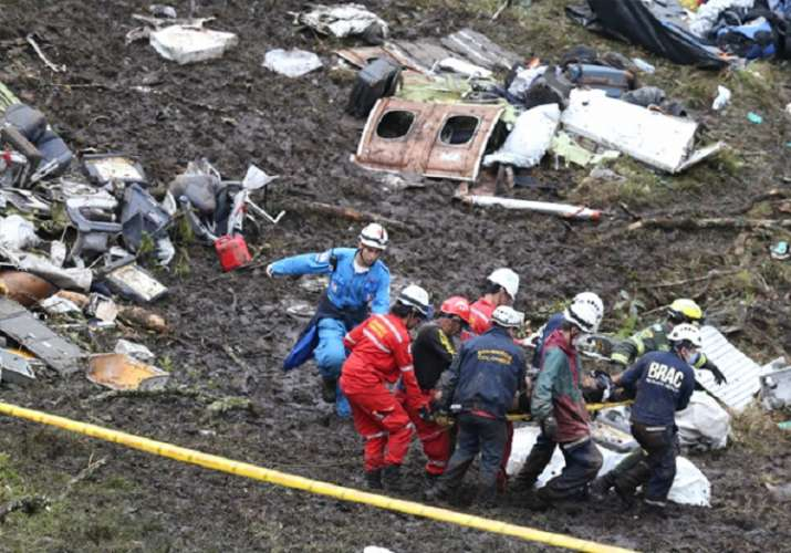 Plane Crash- India TV