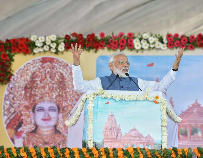 PM Modi donates Rs 21 lakh from his personal savings - India TV