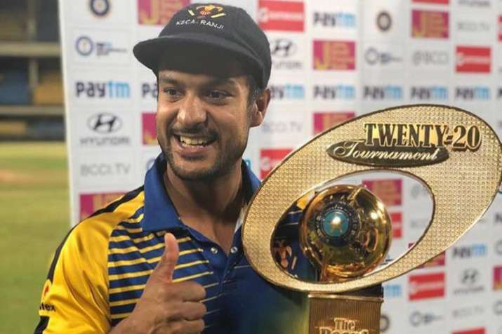 Syed Mushtaq Ali T20 Trophy: Mayank Agarwal's pyrotechnics power Karnataka to title win over Maharas- India TV