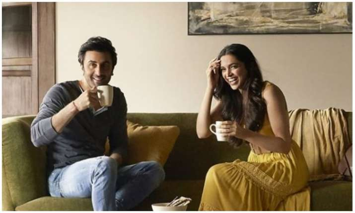 Ranbir kapoor and Deepika padukone- India TV