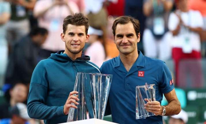Indian Wells: फाइनल में रोजर फेडरर को हराकर डोमिनिक थीम ने जीता खिताब- India TV