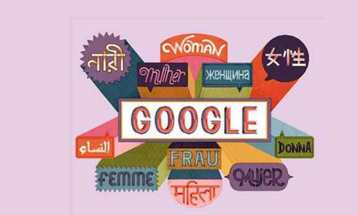 International Women's Day Google Doodle- India TV