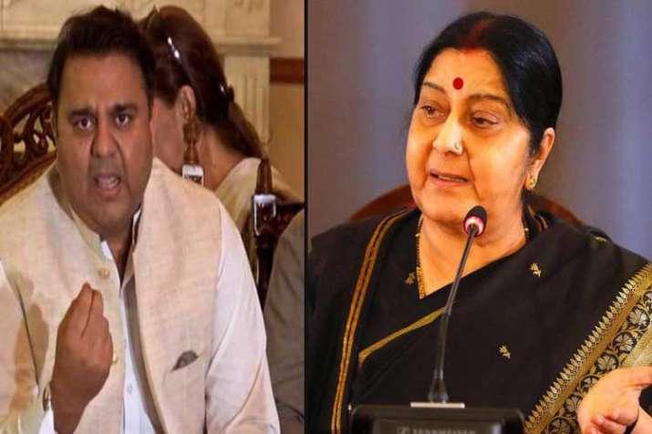 Sushma Swaraj, Pak minister in war of words over report...- India TV