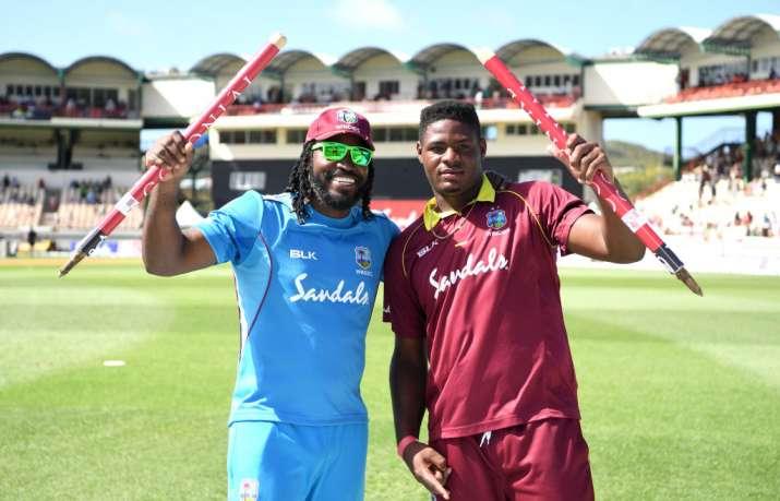 5th ODI: गेल के तूफान में उड़ा इंग्लैंड, वेस्टइंडीज ने इंग्लैंड को हराकर की सीरीज में बराबरी- India TV