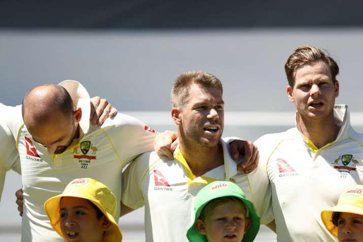 ऑस्ट्रेलियाई टीम से जुड़े स्मिथ, वार्नर, बोले- ऐसा लगा जैसे हम कभी टीम को छोड़कर गए ही नहीं- India TV