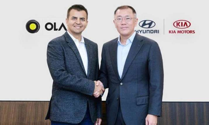 hyundai and ola- India TV Paisa