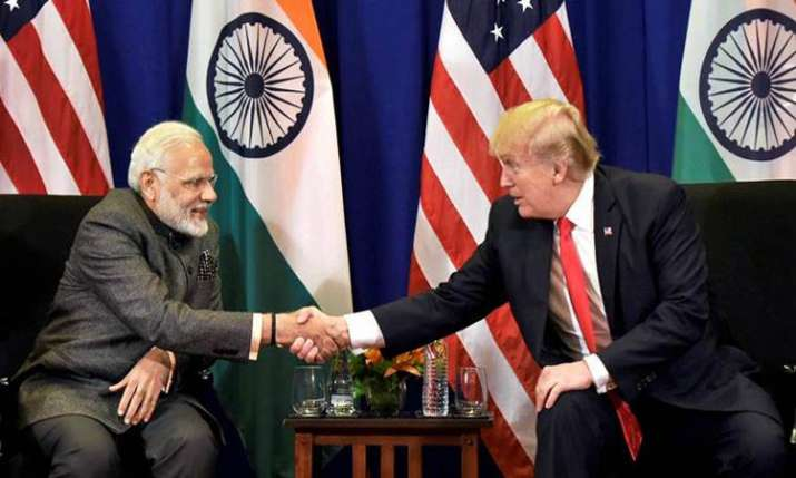 Modi and trump- India TV Paisa