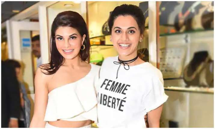 jacqueline fernandez and taapsee pannu- India TV